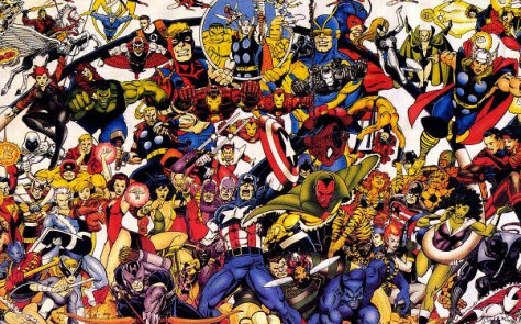 Avengers Comic Book